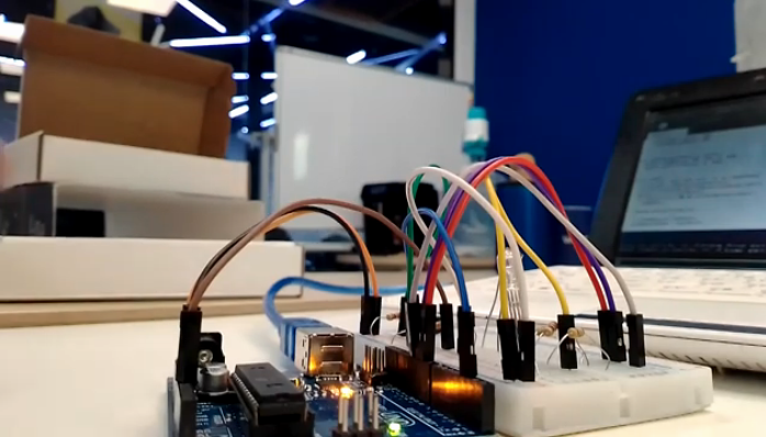Small Arduino education project